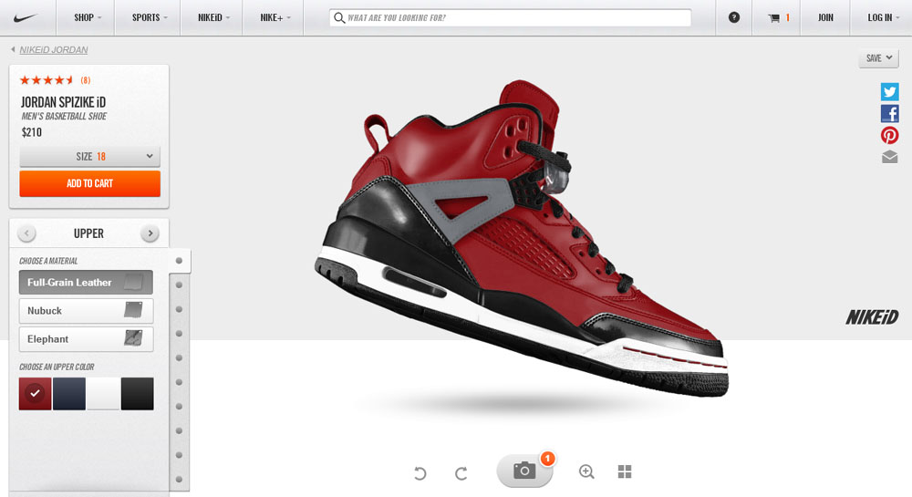 customize your own Jordan shoes