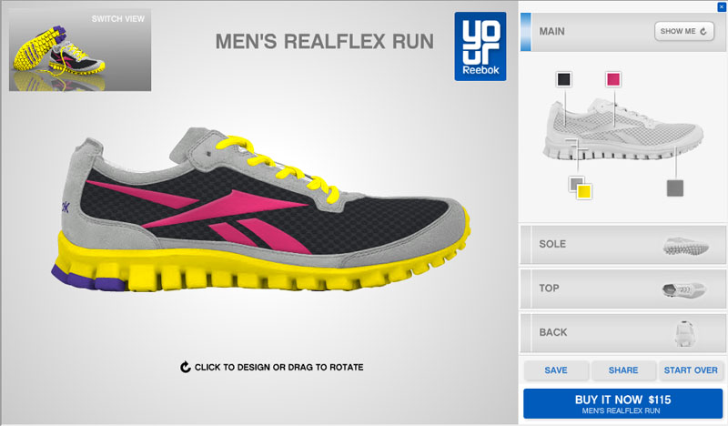 59684dfde970 Design Your Own Reebok Shoes