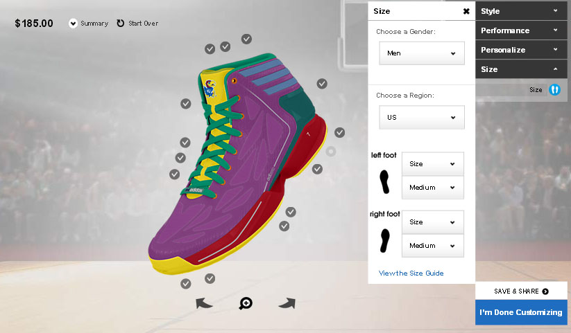 design your own Adidas shoes