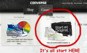 design your own converse