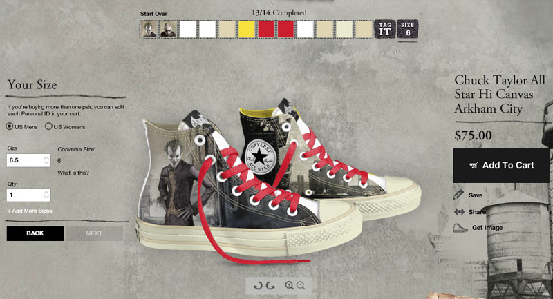 customize my converse
