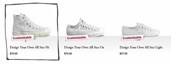 design converse all star