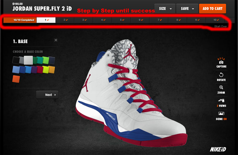 customize jordan shoes