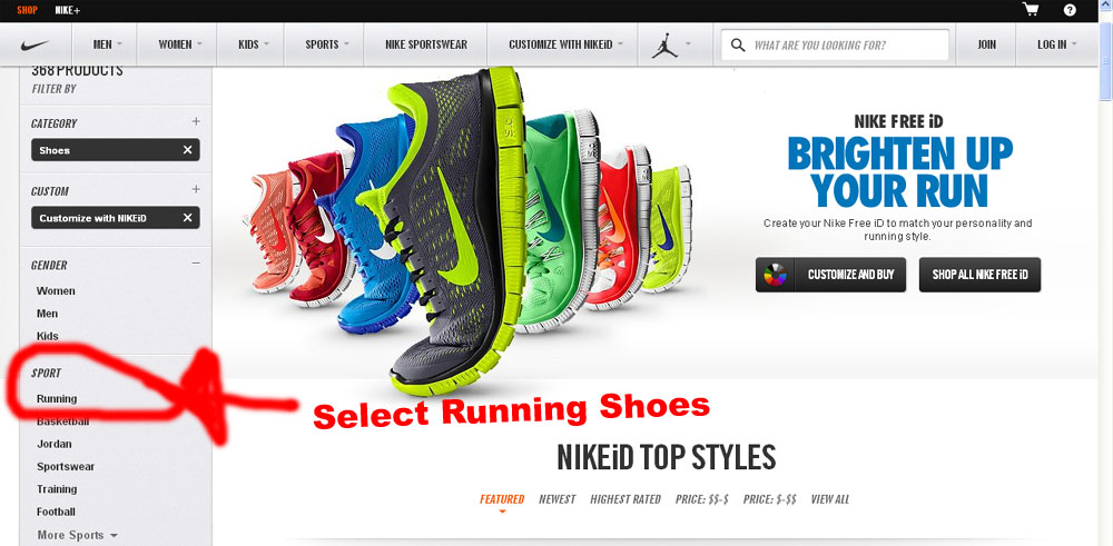 Design Your Own Running Shoes Design Customize And