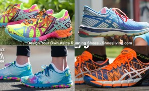 design your own Asics running shoes