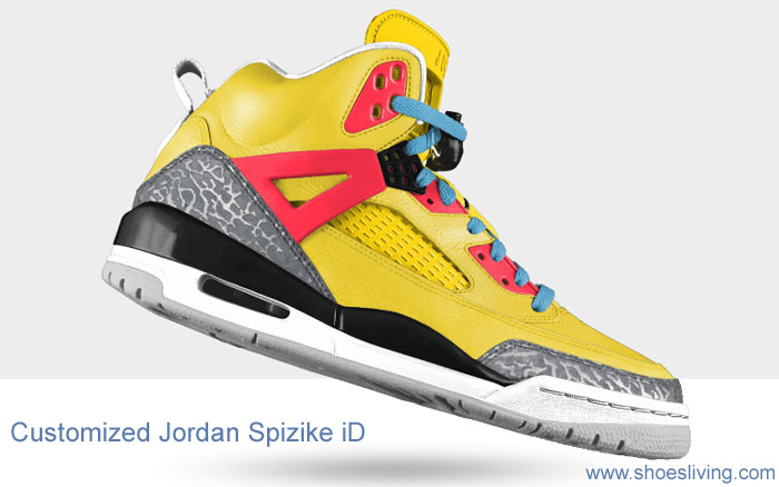 customize your own Jordan shoes online, you will see a basketball