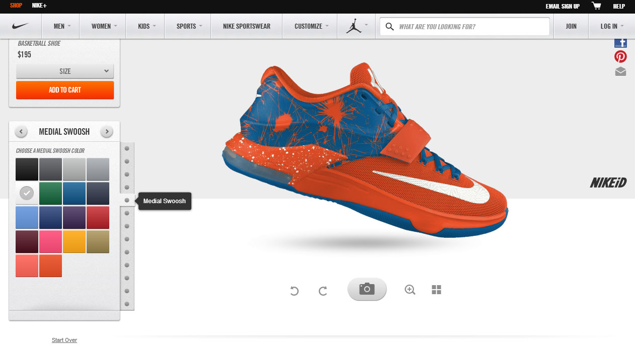 nike design your own basketball shoes