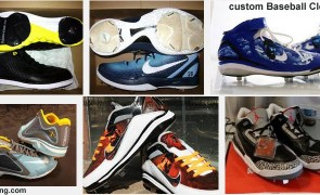 Custom Jordan baseball cleats
