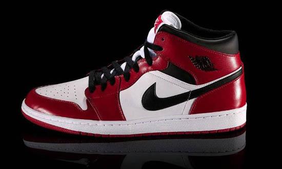 Air Jordan I basketball shoes