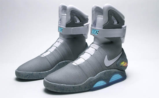 Nike Air Mag basketball shoes