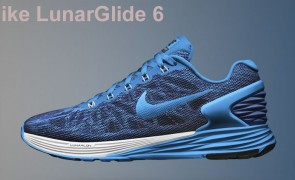 Nike LunarGlide 6 running shoes for flat feet