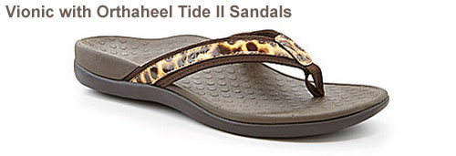 Vionic with Orthaheel Tide II Sandals