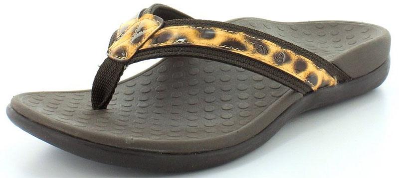 Vionic Womens Tide II Orthaheel Thong Sandal