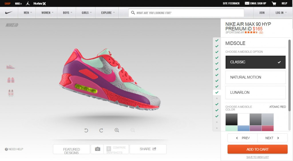Design Customize And Make Your Own Shoes Online